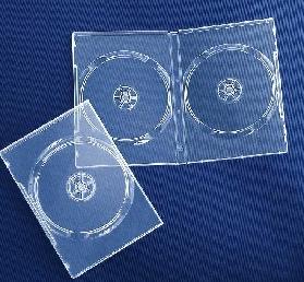 DVD BOX 14mm doppio Superclear