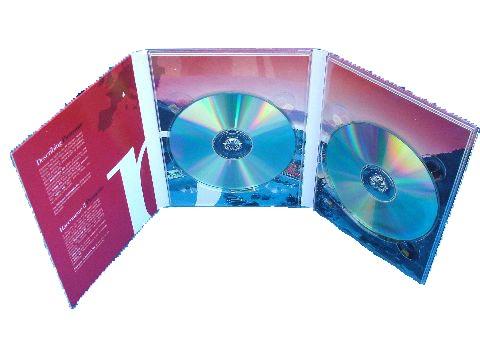 Digipack DVD 3 ante da 2 CD
