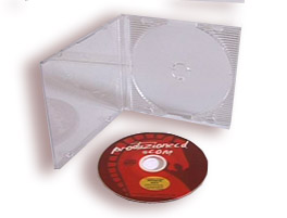Mini Jewel Box per mini CD/DVD 80mm